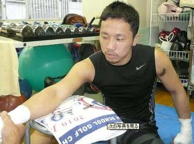 Photo WBC・Sフェザー級王者粟生隆寛11/6WBC・Sフェザー級タイトルマ... 粟生、